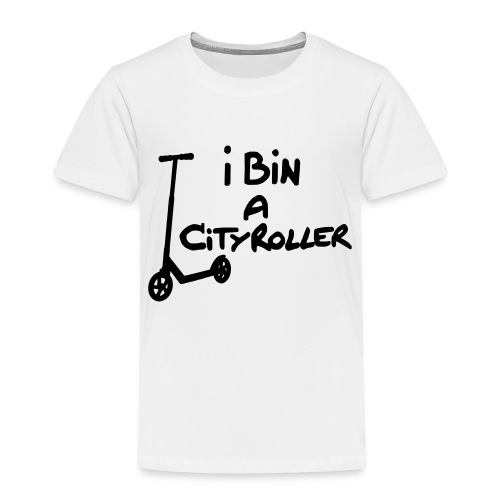 I bin a Cityroller - Kinder Premium T-Shirt