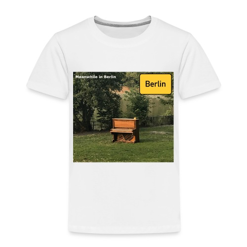 lonely Piano - Kinder Premium T-Shirt