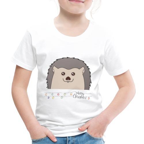 Hed wünscht Merry Christmas - Kinder Premium T-Shirt