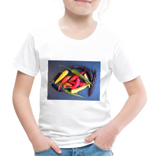 Chili bunt - Kinder Premium T-Shirt