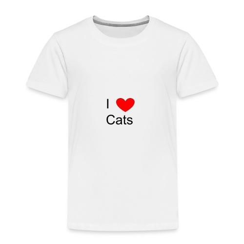 Katzen Merch - Kinder Premium T-Shirt