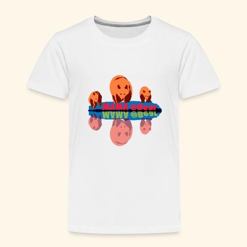 Mama bear et ses oursons - T-shirt Premium Enfant