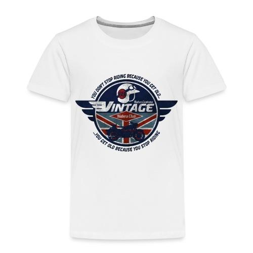 Kabes Vintage Riders Club - Kids' Premium T-Shirt