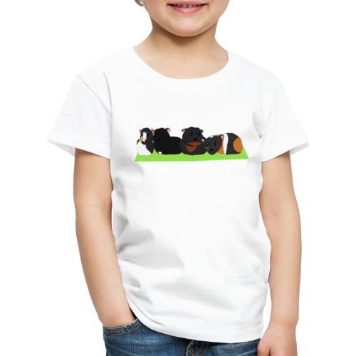 Cavia familie - Kinderen Premium T-shirt