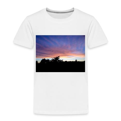 Sunset - Børne premium T-shirt