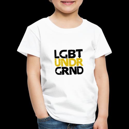 LGBT UNDERGROUND - Kids' Premium T-Shirt