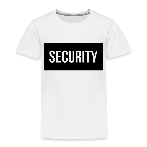 Security Balkentext groß - Kinder Premium T-Shirt