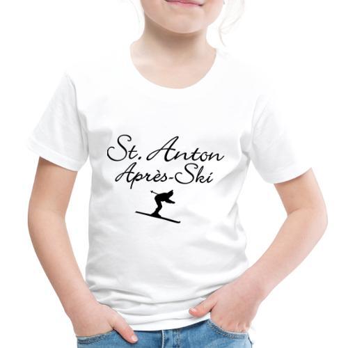 St. Anton Après-Ski Skifahrer - Kinder Premium T-Shirt
