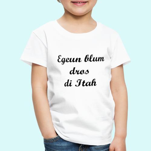 pauvre peuple de la Terre - T-shirt Premium Enfant