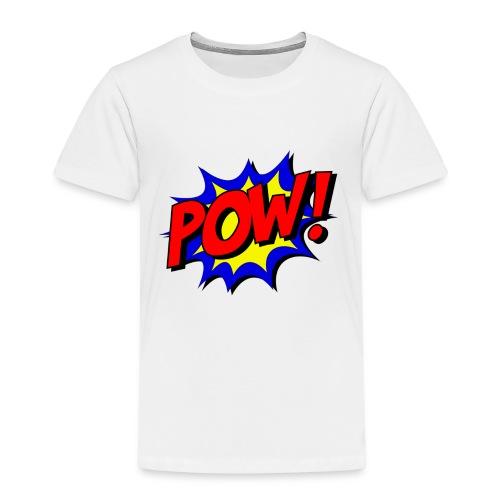 Pow Logo - Kinder Premium T-Shirt