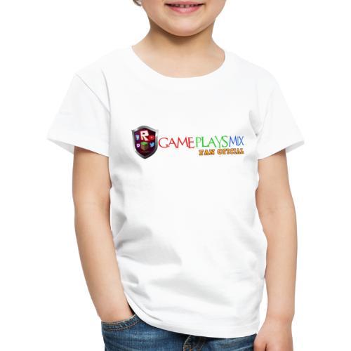 VENTILADOR DE LOGOTIPO png - Camiseta premium niño
