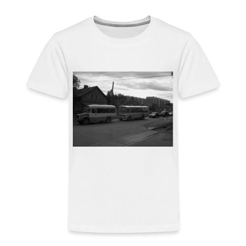 Aika on pysähtynyt Sortavalassa - Lasten premium t-paita