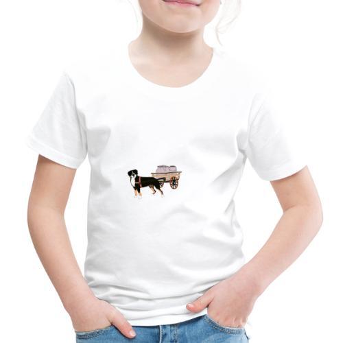 Grosser Drag - Premium-T-shirt barn
