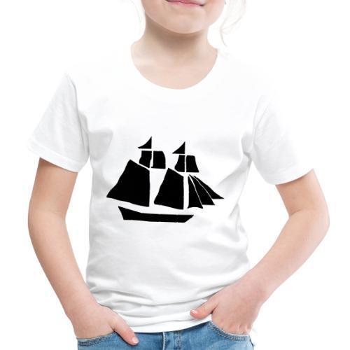 black hand ship - Kids' Premium T-Shirt