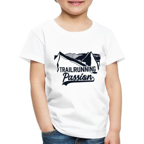 Trailrunning Passion Series - blanko - Kinder Premium T-Shirt