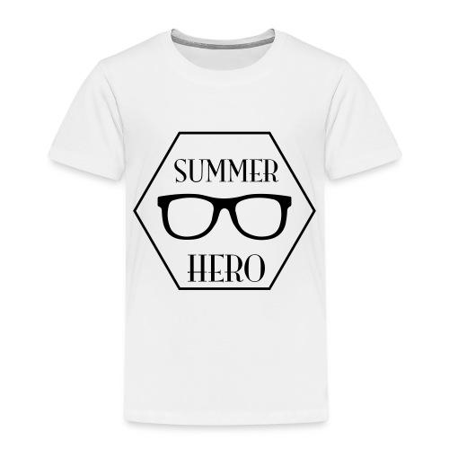 summer hero - Kinderen Premium T-shirt