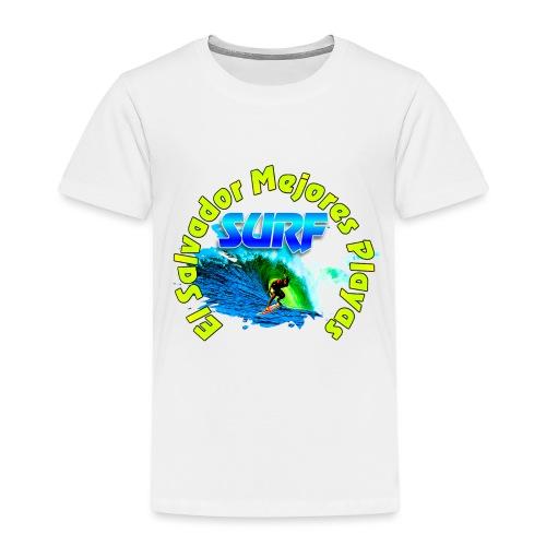 El Salvador surf - Camiseta premium niño