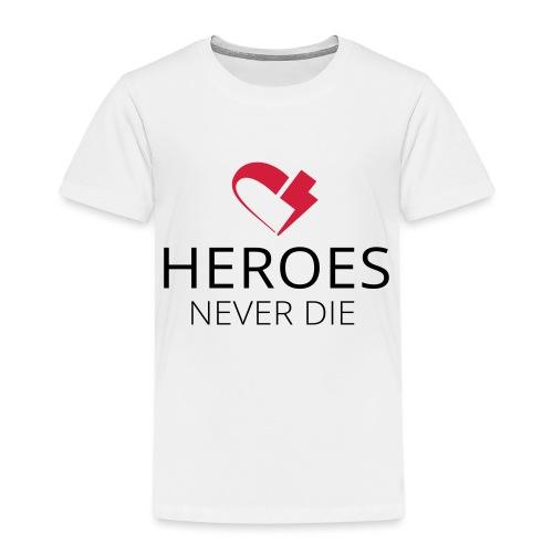 heroes flash-heart - Kinder Premium T-Shirt