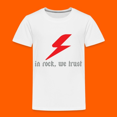 In rock, we trust - T-shirt Premium Enfant