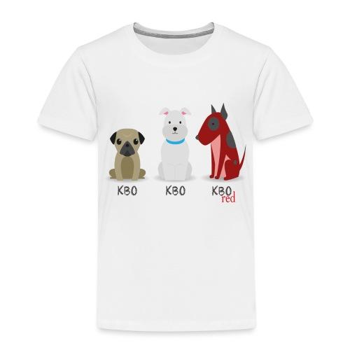 Chiens Red - T-shirt Premium Enfant