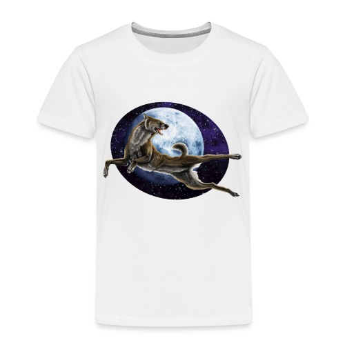 Galaxy Wolf - Kinder Premium T-Shirt