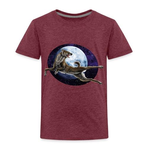 Galaxy Wolf - Kinder Premium T-Shirt