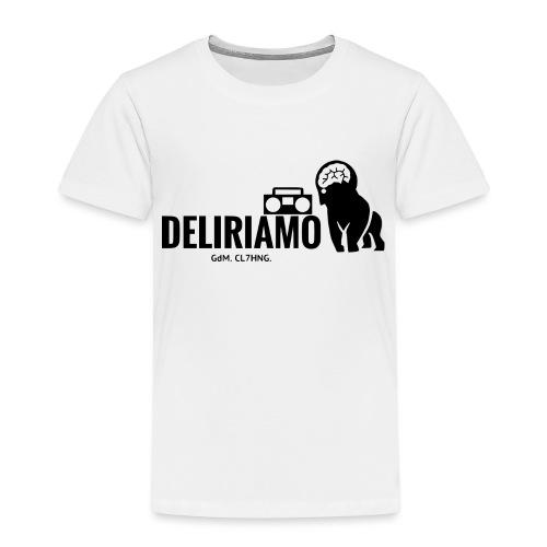 DELIRIAMO CLOTHING (GdM01) - Maglietta Premium per bambini