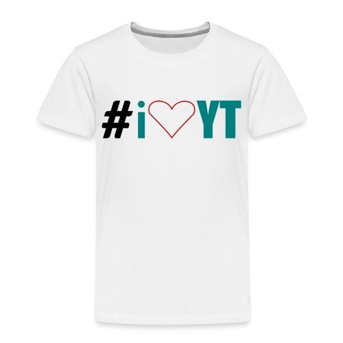 I Love YouTube - Kinder Premium T-Shirt
