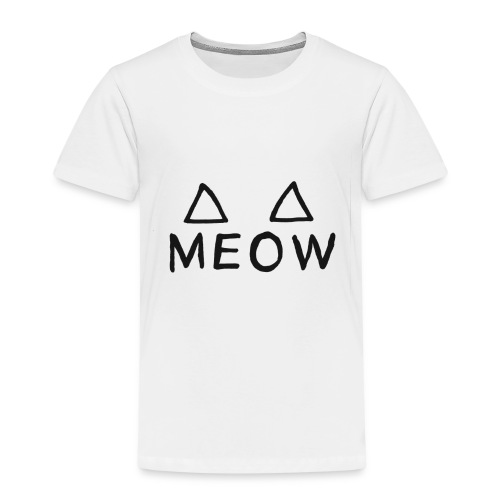 Meow - T-shirt Premium Enfant