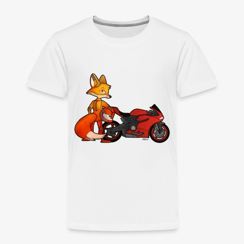 renard moto - T-shirt Premium Enfant