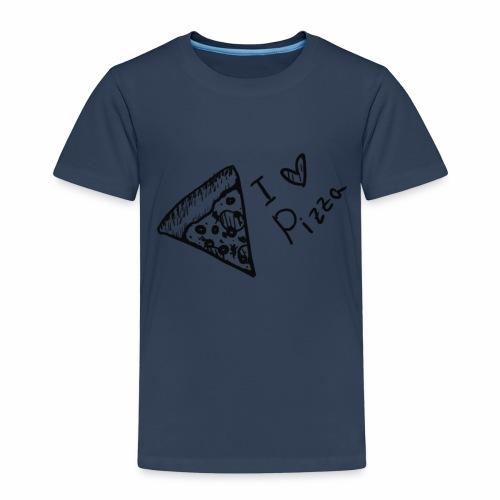 I LOVE PIZZA - Kinder Premium T-Shirt