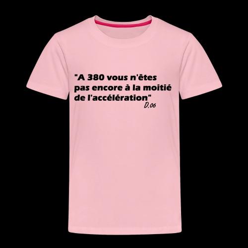 380 noir - T-shirt Premium Enfant