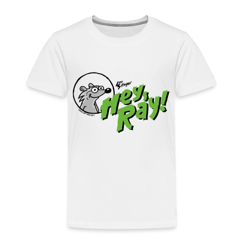 Hey Ray Logo green - Kinder Premium T-Shirt