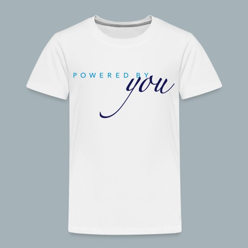 Powered By You Basketbal Shirt - Kinderen Premium T-shirt