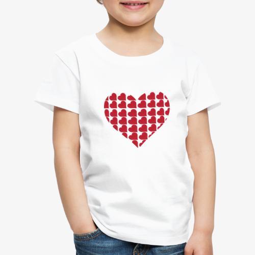 Cuoricini-love-valentine-day-heart - Maglietta Premium per bambini