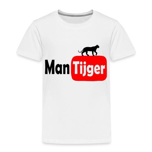 mantijger - Kinderen Premium T-shirt