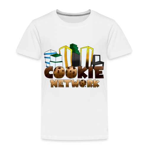Cookienetwork logo - Kinderen Premium T-shirt