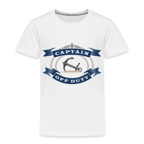Captain Off Duty - Captain out of service - Kids' Premium T-Shirt