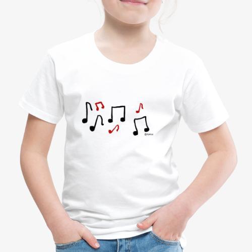 Nuotit - Lasten premium t-paita