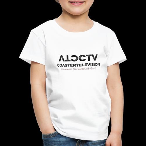 CTV Logo Black - Kinder Premium T-Shirt