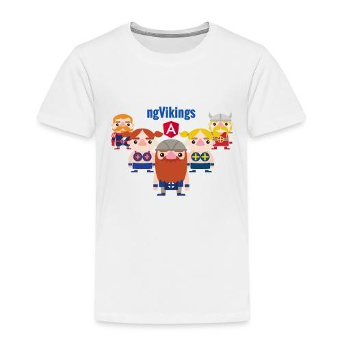 ngVikings friends - Børne premium T-shirt