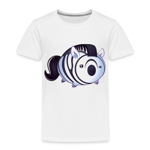 zèbre kawaii - T-shirt Premium Enfant