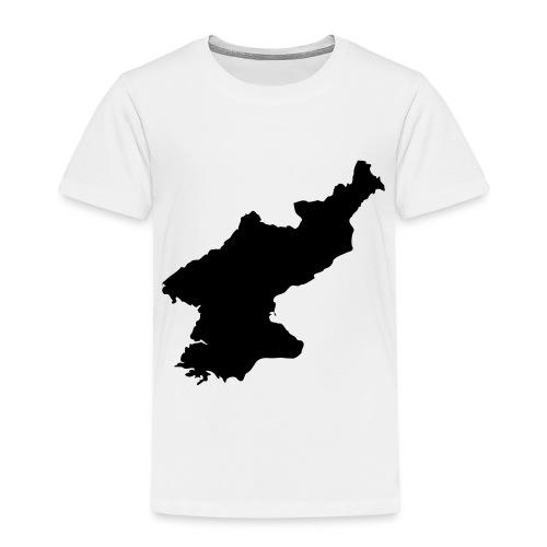 North Korea Map - Kinder Premium T-Shirt