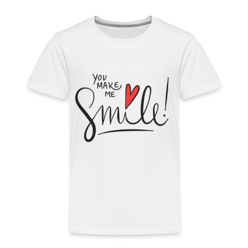 just smile - Kinder Premium T-Shirt