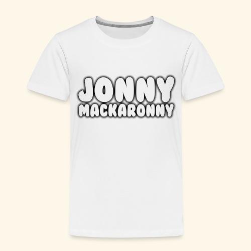 JonnyMackaronny Tekst - Premium T-skjorte for barn
