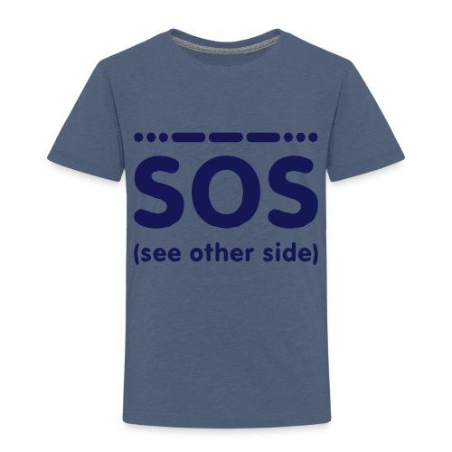 SOS - Kinderen Premium T-shirt