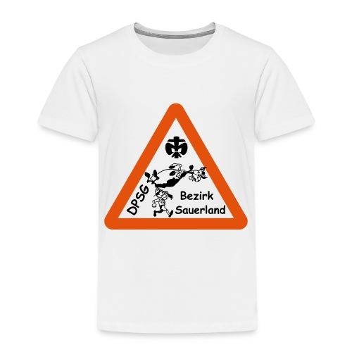 Logo Bezirk Sauerland mit Rahmen - Kinder Premium T-Shirt