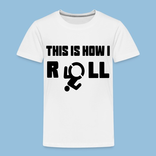 This is how i roll 007 - Kinderen Premium T-shirt