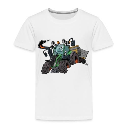 F 718Vario met kar - Kinderen Premium T-shirt