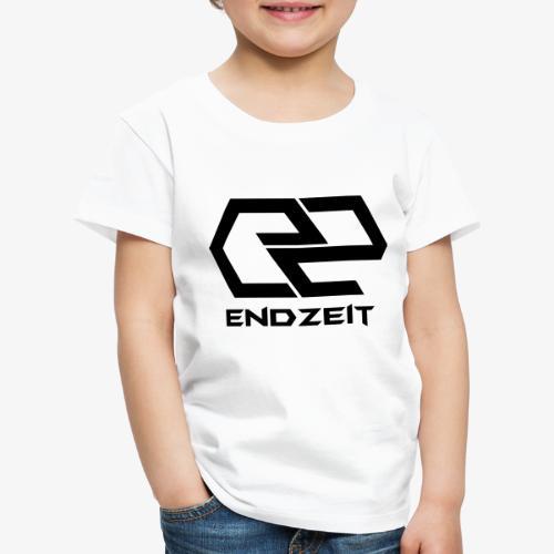Endzeit Logo Black - Kinder Premium T-Shirt